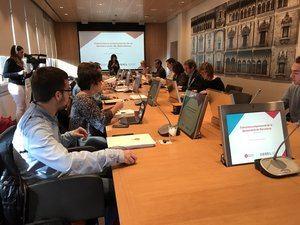Presentación del estudio sobre la Estructura empresarial de la demarcación de Barcelona.