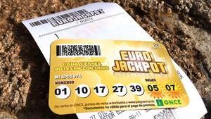 Un vecino de Sant Vicenç se queda a un número de ganar 68 millones de euros en el Eurojackpot de la ONCE