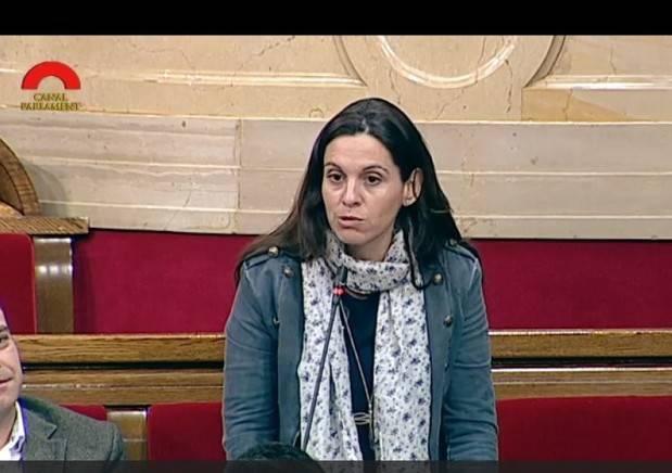 Eva Martínez, alcaldessa de Vallirana i diputada socialista al Parlament