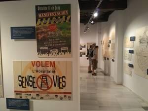 Exposici�n 'Com es fa una ciutat' en el espacio de arte L'Harmonia
