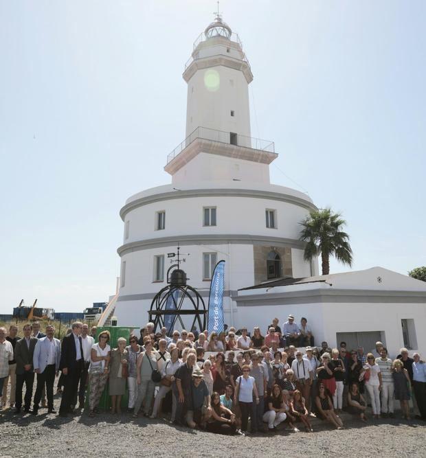 Visita vecinal al Faro del Llobregat