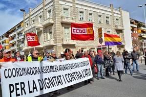 Desenes d'entitats inicien la III Marxa contra l'Atur a Catalunya