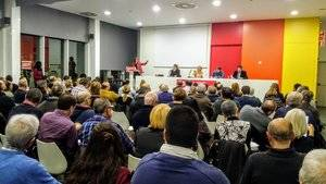 Partits i agents socials progressites del territori presenten, a Sant Boi, un manifest a favor del federalisme social