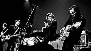 Los Flamin' Groovies, durante un concierto en Berlín, en 1980