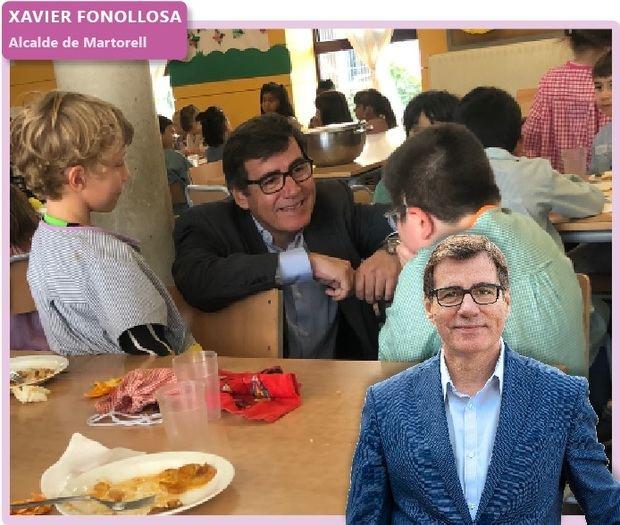 'Fora de context': Xavier Fonollosa, alcalde de Martorell