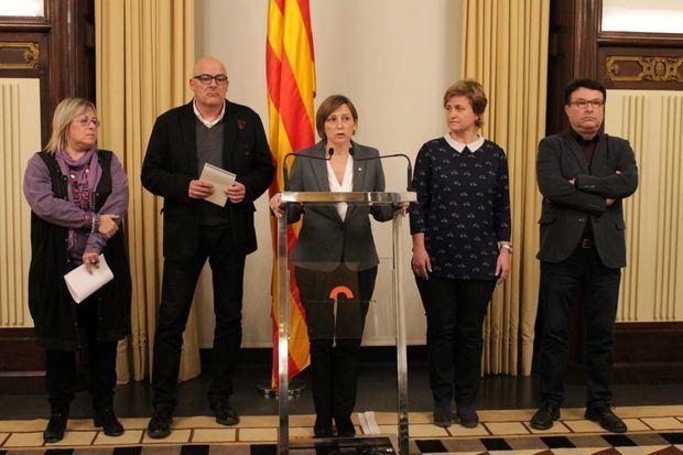 Carme Forcadell no repetirá como presidenta del Parlament de Catalunya en la próxima legislatura