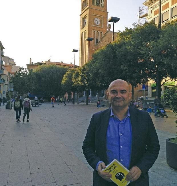 Fornés durante la entrevista del mes de noviembre en El Llobregat.