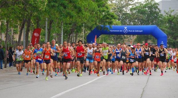Más de un millar de corredores participan en la Cursa Delta Prat