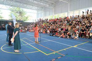 Gavà estrena pista polideportiva al lado de la escuela Marcel·lí Moragas