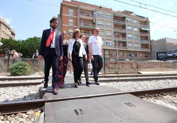Nuevo atropello en las inmediaciones de la estación de tren de Sant Feliu