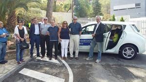La Policia Local de Sant Andreu de la Barca incorpora el primer cotxe elèctric a la seva flota