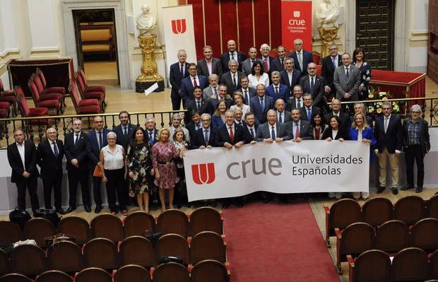 El hospitalense Roberto Fernández Díaz, elegido presidente de la Conferencia de Rectores de las Universidades Españolas
