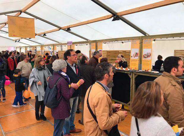 GastroGavà consolida el producto estrella del Parc Agrari en la 64ª edición de la Fira d'Espàrrecs