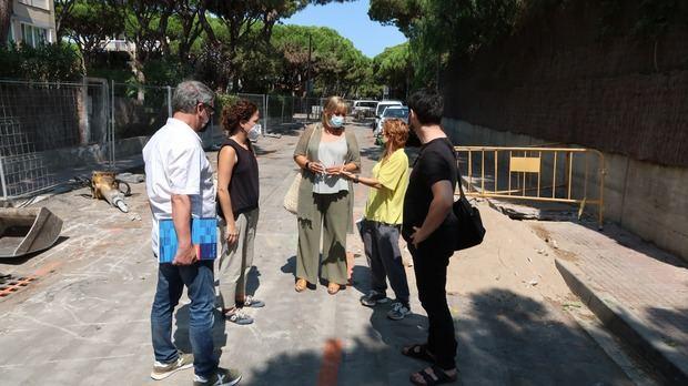 Nuevas intervenciones de mejora del espacio público en Gavà Mar