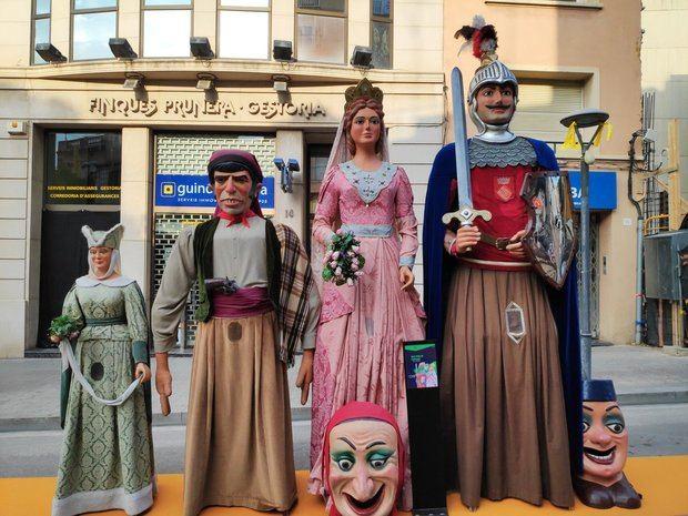 Gegants de Sant Feliu