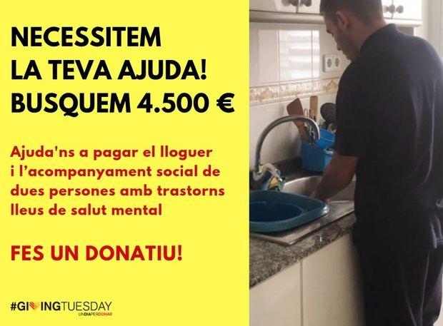 El 'Giving Tuesday' llega con antelación a Sant Boi