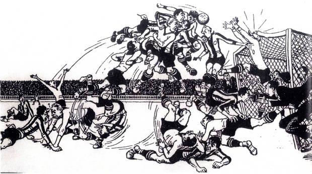 L'Exposició 'Gols de Tinta' estarà al Museu de Sant Boi fins el 14 de maig