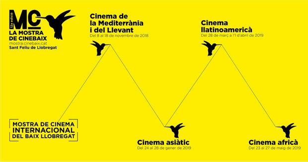 Los cuatro grandes ciclos de cine internacional que realiza CineBaix a lo largo del año.