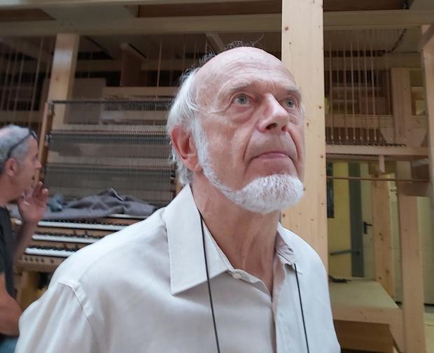 El maestro organero de El Papiol Gerhard Grenzing recibe la Creu de Sant Jordi