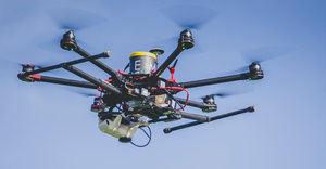 Hacienda se ayudó de drones para llevar a cabo las inspecciones.