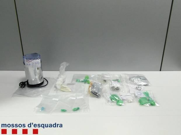 Quatre homes detinguts a L'Hospitalet per presumpte tràfic d'heroïna
