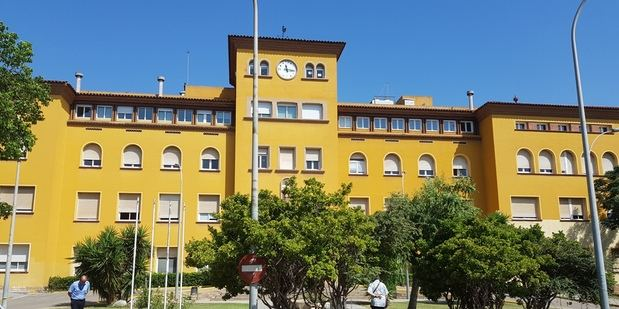 Edificio antiguo del Hospital de Viladecans.