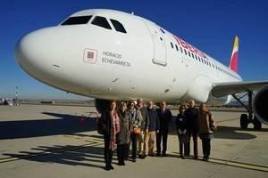 Iberia celebra los 90 años en El Prat, que sigue creciendo y ya suma más de 44 millones de pasajeros