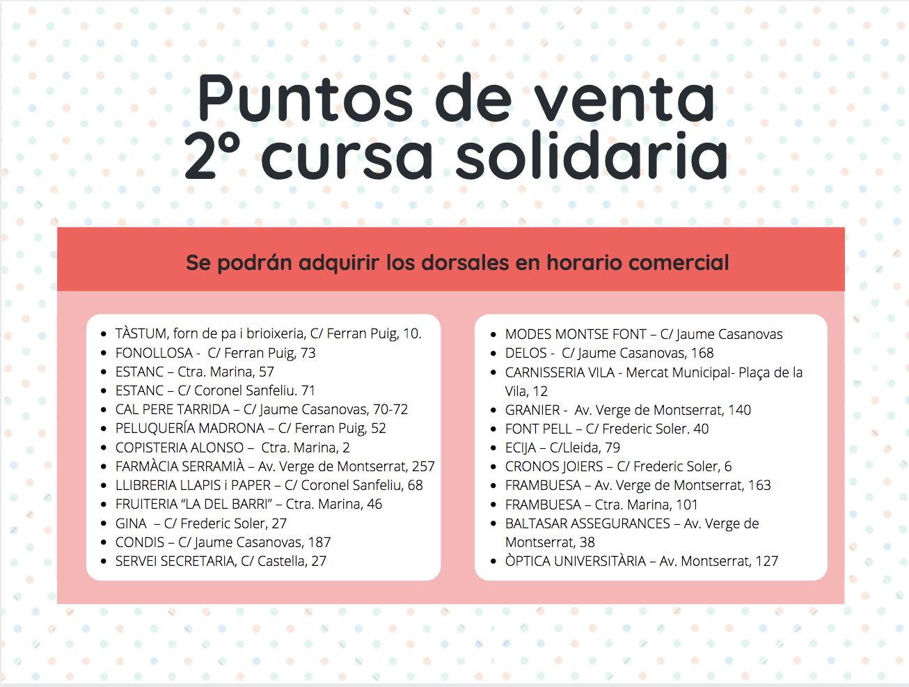 La segunda cursa solidaria de El Prat será virtual por las restricciones del covid-19