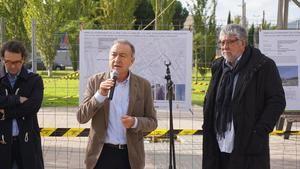 Poveda y Balmón visitaron a los presos independentistas en Lledoners
