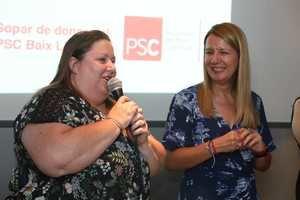 Itziar Castro, invitada especial a la séptima cena de mujeres del PSC del Baix