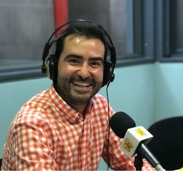 José David Muñoz, presentador del programa.