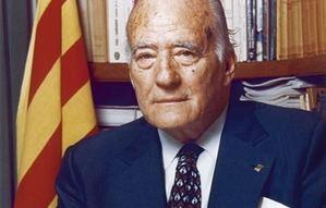 Cervelló rinde homenaje a Josep Tarradellas