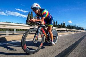 La triatleta de Sant Boi Judith Corachan gana una de las pruebas más duras del circuito