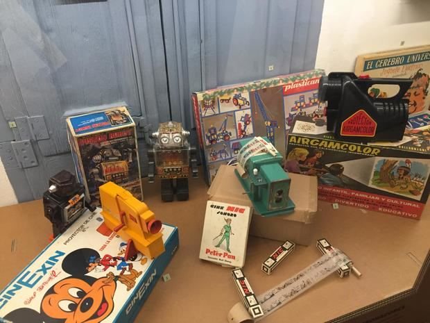 Exposición de juguetes en Ca n'Amat.