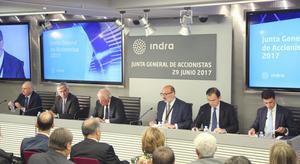 Junta general de accionistas 2017 de Indra.