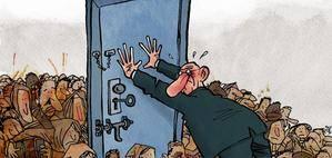 Kap ganó en 2016 el Press Cartoon Europe, galardón que reconoce a las mejores viñetas sobre actualidad publicadas en medios europeos