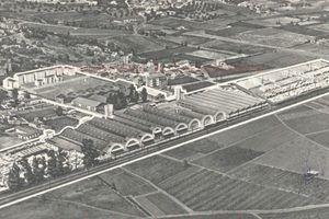 Antigua fábrica Rocalla de Castelldefels..