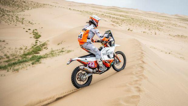 La corberana Laia Sanz tropieza en la segunda etapa del Dakar