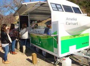 Un food truck de comida vegana, pendiente de la autorización del Consorcio del parque de Collserola