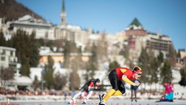 El patinador pratense Nil Llop consigue la plata en los 500 metros en los Juegos de Lausanne