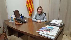 Maite Aymerich es la alcaldesa de Sant Vicenç dels Horts, el municipio con más población del Baix Llobregat incluido en la lista de la Fiscalía
