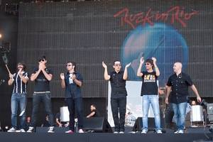 Maldita Nerea al Rock in Rio de Madrid, l'any 2012