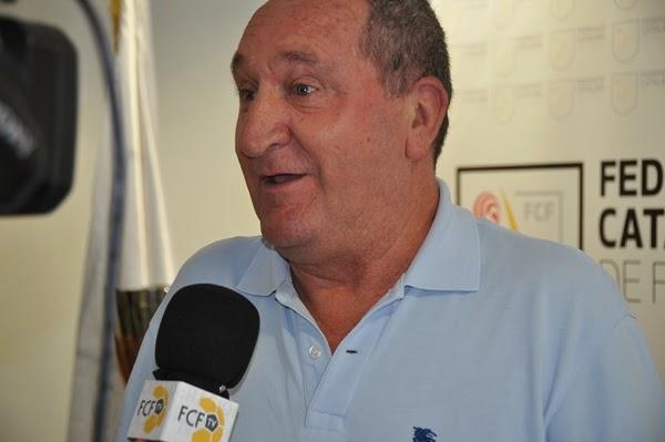 Manuel Maniega, presidente del Gavà CF