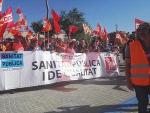 El Fòrum Social Baix Llobregat se manifiesta de nuevo para reclamar más recursos sanitarios