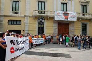 Manifestaci�n en repulsa del nuevo PDU organizada por No m�s blocs el pasado 11 de junio. (Foto: Eva Jim�nez)