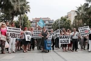 Durant el Ple es van tornar a produir concentracions com les que es van donar a la investidura de Candela López com a alcaldessa de la ciutat