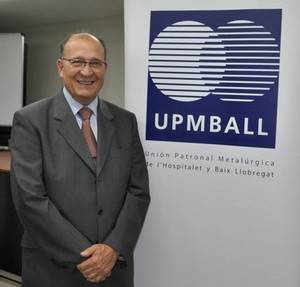Manuel Rosillo, reelegit com a president de la patronal metal·lúrgica del territori UPMBALL