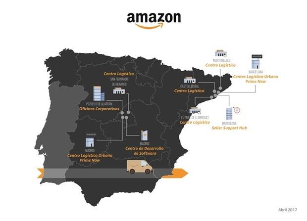 Amazon refuerza su apuesta por Barcelona con un nuevo centro logístico en Martorelles