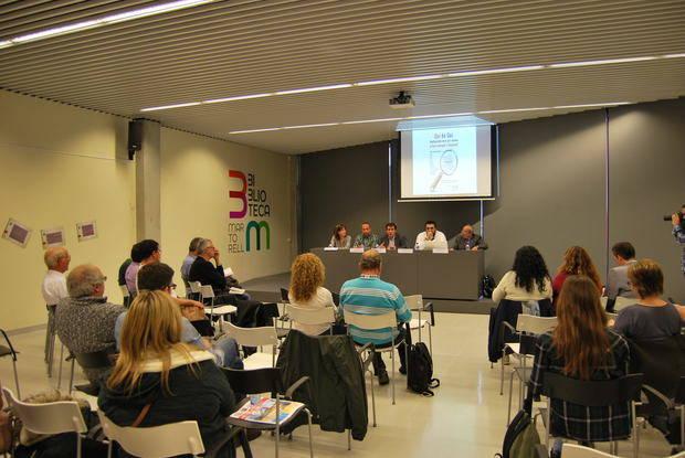Los líderes sindicales de CCOO y UGT, en el Baix Llobregat, Toni Mora y Carlos de Pablo, respectivamente, protagonizaron el debate laboral de BCN Content Factory, junto al alcalde de Martorell, Xavier Fonollosa | BCN Content Factory