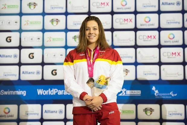 Núria Marqués, de Castellví de Rosanes, campeona del mundo en 100 espalda